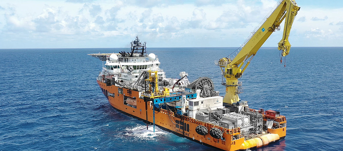 Motion compensated floating drill operation